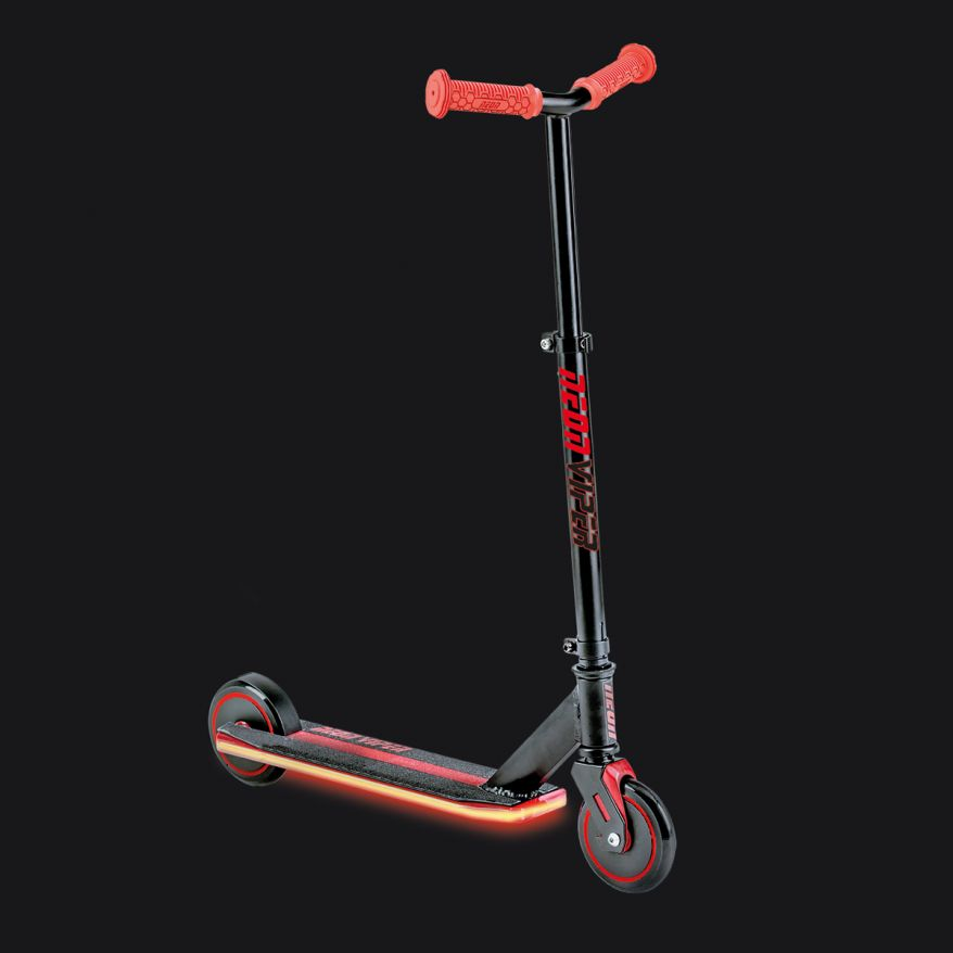 Neon Viper Scooter Rouge