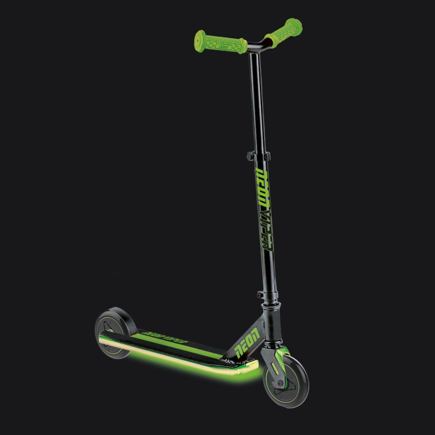 Neon Viper Scooter Green