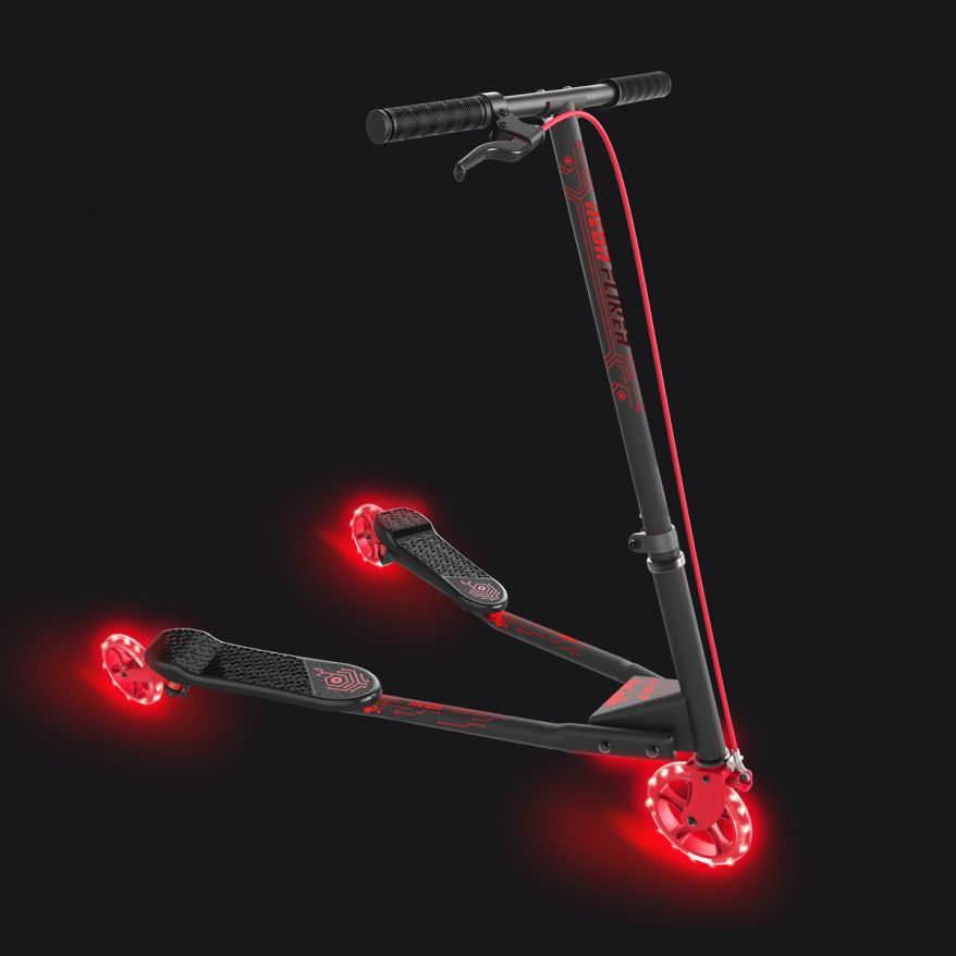 Neon Fliker B3 by Vybe Scooter Red
