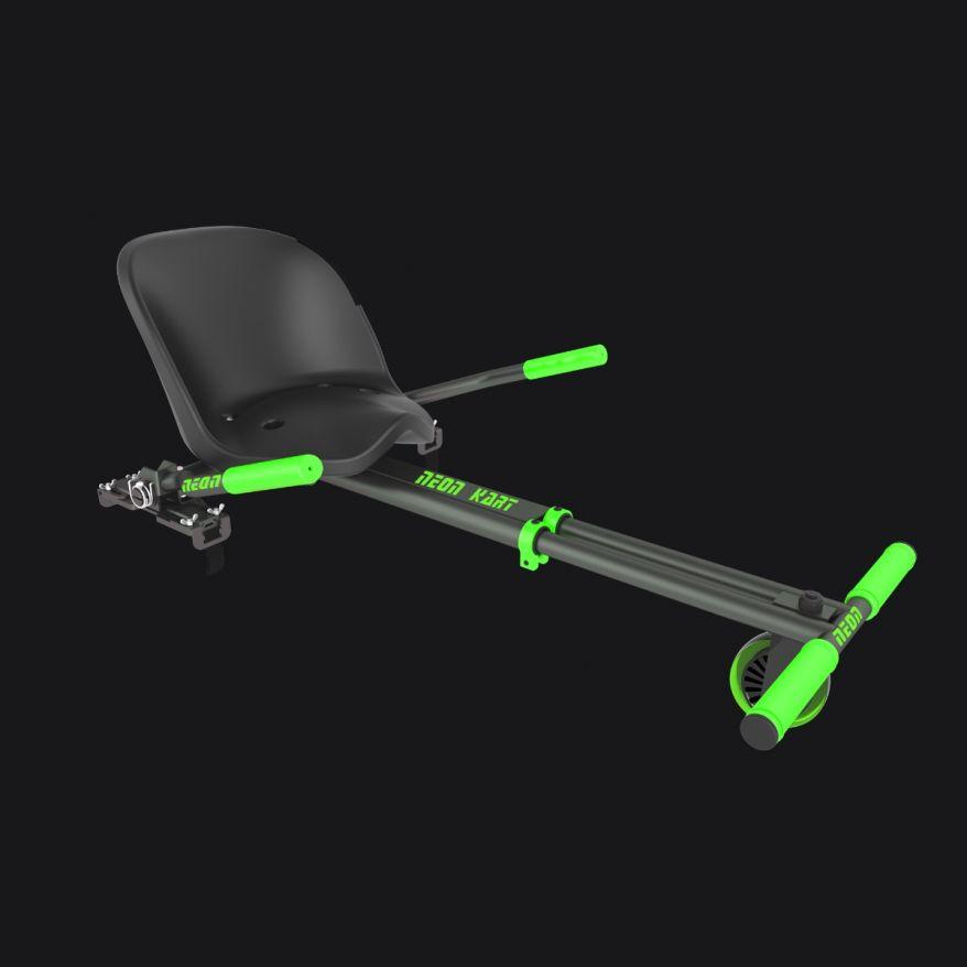 Neon Kart Green & Black