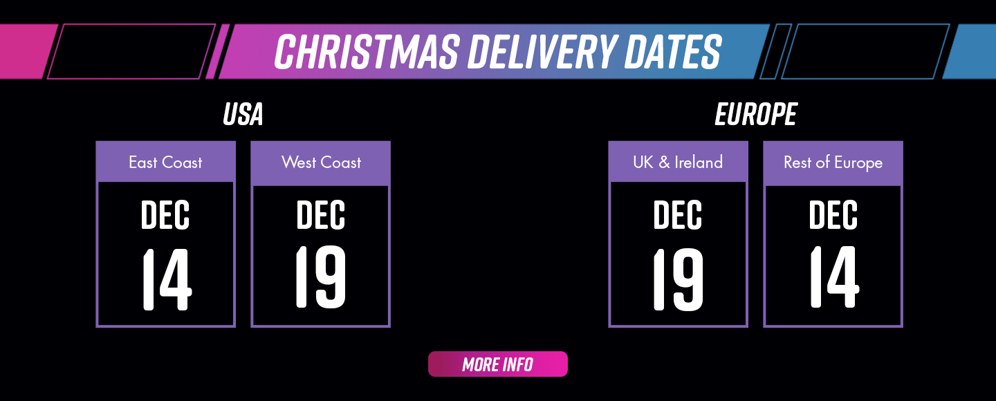 christmas cut-off dates for guaranteed delivery